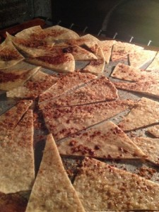 Baked Low Carb Sweet Tortilla Chips