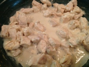 Chicken and Faux Alfredo