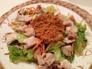 Ginger Carrot Chicken Salad