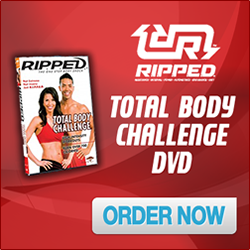 RIPPED Total Body Challenge DVD