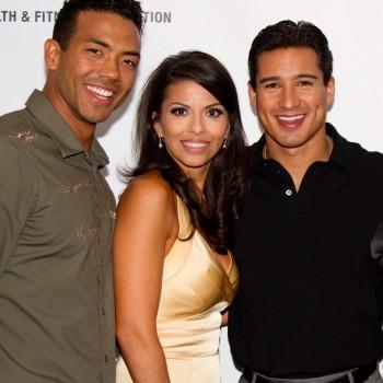 Terry and Tina Shorter with Mario Lopez