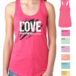 LOVE RIPPED Ladies Relaxed Fit Tank