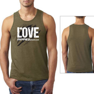 LOVE RIPPED Mens Tank