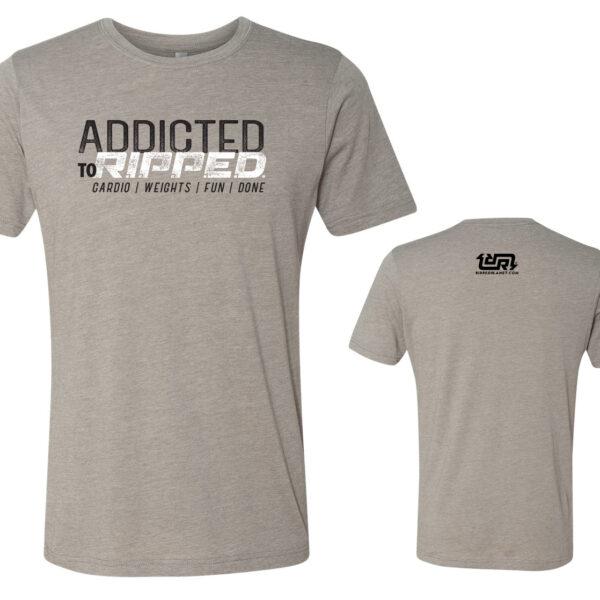 RIPPED ADDICT Unisex Tshirt