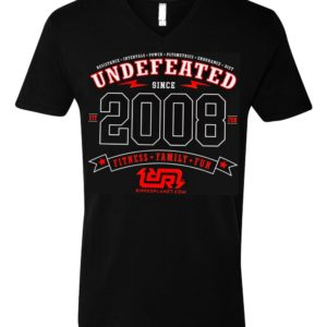 UNDEFEATED Unisex V-neck Tshirt