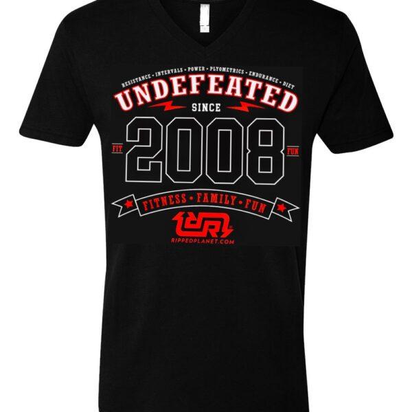 UNDEFEATED Unisex V-neck Tshirt